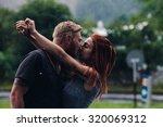 Beautiful Couple Kissing...