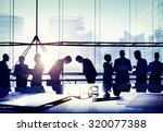 business people japanese... | Shutterstock . vector #320077388