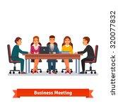 directors board business... | Shutterstock .eps vector #320077832
