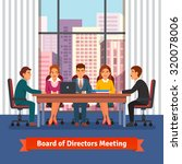 directors board business... | Shutterstock .eps vector #320078006