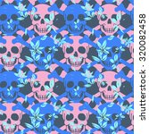 vector seamless pattern with... | Shutterstock .eps vector #320082458