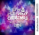 christmas illustration on...   Shutterstock .eps vector #320083355