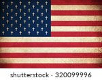 death flag of usa   united... | Shutterstock . vector #320099996