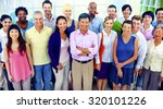 diversity business... | Shutterstock . vector #320101226