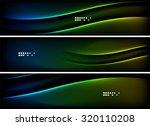 set of banner  header... | Shutterstock . vector #320110208