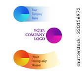 set of colorful stickers ... | Shutterstock .eps vector #320156972