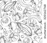 seamless hand drawn background. ... | Shutterstock .eps vector #320162768