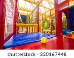 indoor playground for children  | Shutterstock . vector #320167448