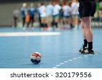 The Ball On The Court During A...