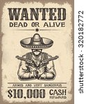 Vintage Wild West Wanted Poste...