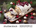 Christmas Stollen With Several...