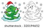 coloring book or page ... | Shutterstock .eps vector #320194652