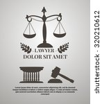 law firm logos  lawyer weight... | Shutterstock .eps vector #320210612