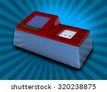 4 channel coagulometer stock... | Shutterstock . vector #320238875
