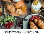 fresh breakfast | Shutterstock . vector #320240282