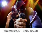 rappers having a hip hop music... | Shutterstock . vector #320242268