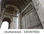 paris  france   26th september... | Shutterstock . vector #320307002
