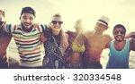 friendship bonding relaxation... | Shutterstock . vector #320334548