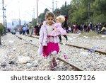 idomeni  greece   september 24  ...   Shutterstock . vector #320357126