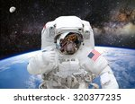 Astronaut On Space Mission Wit...