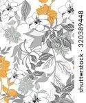 seamless flower background  ...   Shutterstock .eps vector #320389448