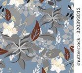 seamless flower background  ... | Shutterstock .eps vector #320393012