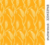 hand drawn doodles wheat ears   ... | Shutterstock .eps vector #320433968