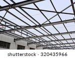 steel structure workshop is... | Shutterstock . vector #320435966