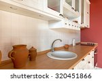 kitchen interior   table top   | Shutterstock . vector #320451866