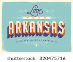 vintage style touristic... | Shutterstock .eps vector #320475716