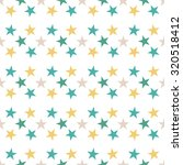 seamless pattern with stars on... | Shutterstock .eps vector #320518412
