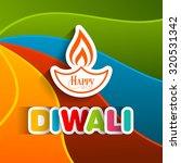illustration of diwali for the... | Shutterstock .eps vector #320531342
