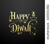 illustration of diwali for the... | Shutterstock .eps vector #320531582