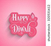 illustration of diwali for the... | Shutterstock .eps vector #320531612