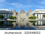 new york state capitol  albany  ... | Shutterstock . vector #320548052
