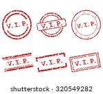 vip stamps | Shutterstock .eps vector #320549282