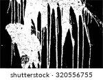 grunge vector dripping texture | Shutterstock .eps vector #320556755