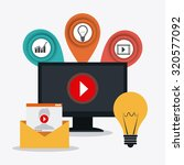 technology  internet and... | Shutterstock .eps vector #320577092