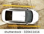 car above road | Shutterstock . vector #320611616