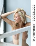 sensual beautiful woman posing... | Shutterstock . vector #320621222