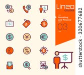 lineo colors   investing and... | Shutterstock .eps vector #320677682