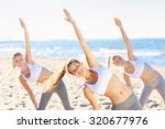 a picture of a group of women... | Shutterstock . vector #320677976