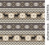 nordic traditional pattern   Shutterstock .eps vector #320694056