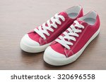 red shoe man | Shutterstock . vector #320696558