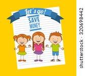 saving children design  vector... | Shutterstock .eps vector #320698442