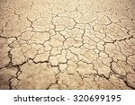 Land With Dry And Cracked...