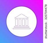 flat design icon   bank