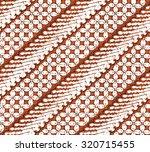 seamless javanese batik pattern   Shutterstock .eps vector #320715455