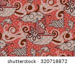 batik beautiful vintage design... | Shutterstock .eps vector #320718872