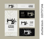 Business Cards Design  Sewing...